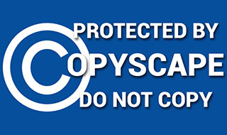 THIS WEBSITE IS PROTECTED BY COPYSCAPE